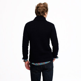 J.Crew Wallace & Barnes double-breasted cardigan