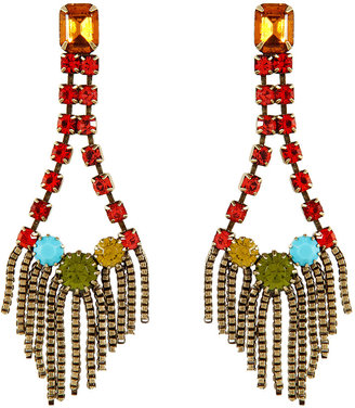 Dannijo Oxidized Brass Plated Maryna Earrings
