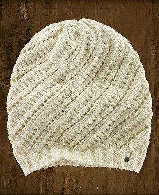 Denim & Supply Ralph Lauren Hat, Slouchy Diagonal-Knit