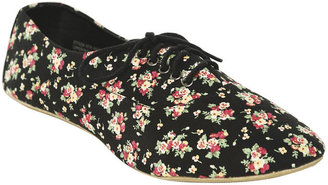 Wet Seal Floral Oxford