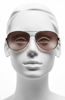 Marc by Marc Jacobs 60mm Stainless Steel Aviator Sunglasses