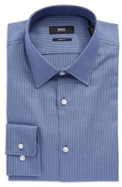 HUGO BOSS Slim Fit Striped Dress Shirt