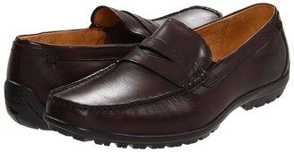 Florsheim Nowles Penny (Brown Smooth Leather) - Footwear