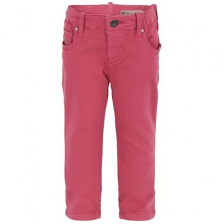 Diesel Pink Stretch Jeans