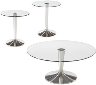 Evolve Occasional Tables, 3 Piece Set (Coffee Table and 2 End Tables)