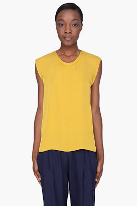 3.1 Phillip Lim Yellow Silk Blouse