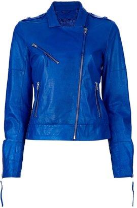 Just'eve Leather biker jacket