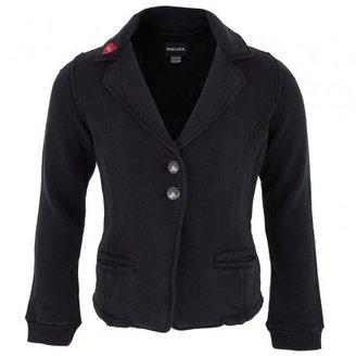 Diesel Red Heart Black Jersey Blazer