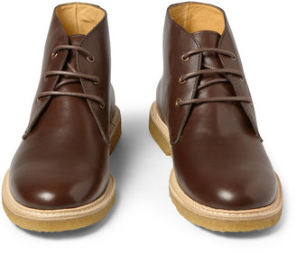 A.P.C. Leather Desert Boots