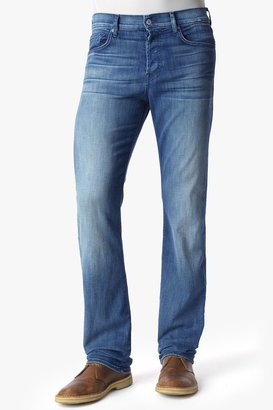 7 For All Mankind Luxe Performance: Standard Classic Straight In Nakkitta Blue