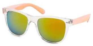 Charlotte Russe Neon Trim Clear Plastic Shades