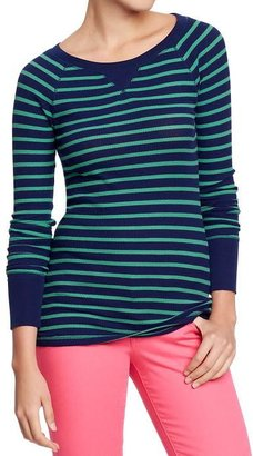 Old Navy Women's Waffle-Knit Crew Tees
