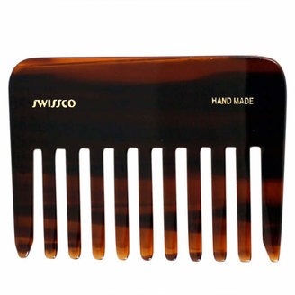 Swissco Tortoise Wide Tooth Perm Comb by 3.75inch Comb)