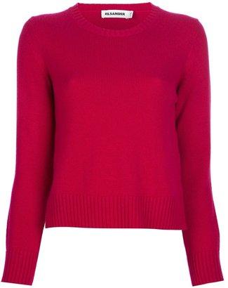 Jil Sander cropped cashmere sweater