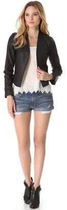 Joie Venette Leather Jacket