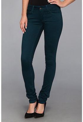 Mavi Jeans Serena Lowrise Super Skinny Jean in Sueded Teal
