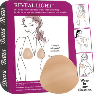 Braza Reveal Light Strapless Bra, Beige, A Cup, Beige 1 ea