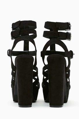 Nasty Gal Shoe Cult Amplify Platform Sandal