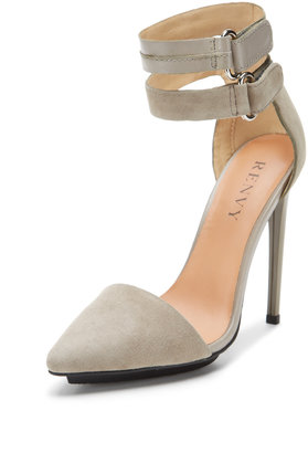 Cassidy Ankle Strap Two-Piece Pump
