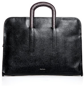 Paul Smith Pebble embossed leather document briefcase
