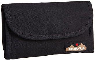 Kavu Big Spender (Black) Wallet Handbags