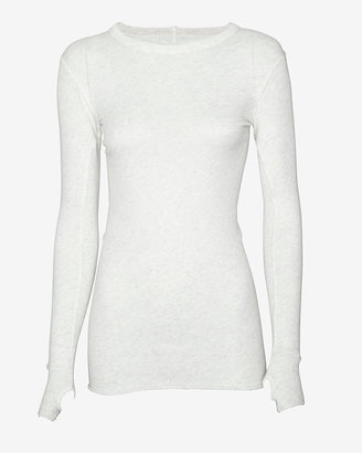 Enza Costa Exclusive Thumbhole Insert Pullover