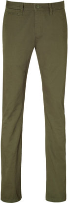 PRPS Army Green Cotton Chino