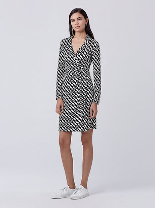 New Jeanne Two Silk Jersey Wrap Dress $398 thestylecure.com