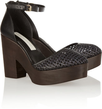 Stella McCartney Faux leather platform sandals