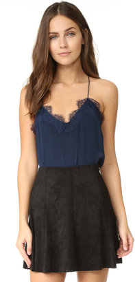 ONE by CAMI NYC Lace Racer Camisole $148 thestylecure.com