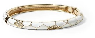 Sequin Insect Wing Skinny Enamel Bangle