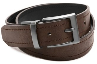 Columbia Double Stitched Reversible Men's Leather Belt