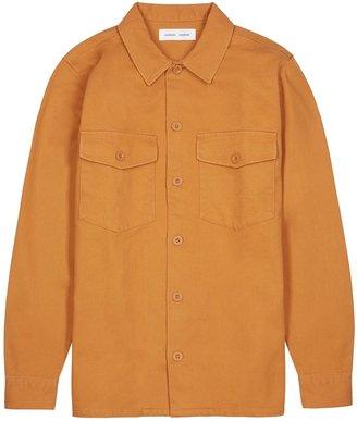 Samsoe & Samsoe Samse Samse Luccas Orange Cotton Overshirt