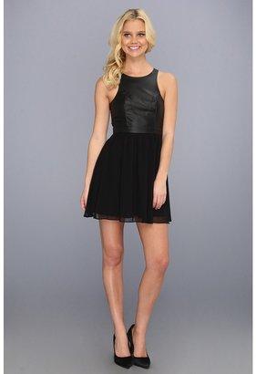 BCBGeneration Lace Back Dress (Black) - Apparel