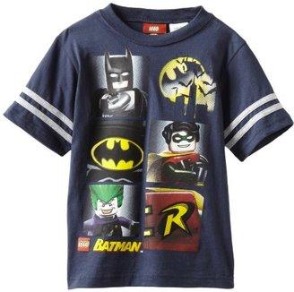 Lego Warner Bros. Boys 2-7 Batman Short Sleeve Tee