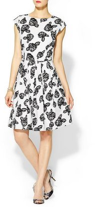 Pim + Larkin Graphic Floral Dress