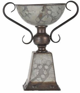 A&B Home Metal Bowl with Stand