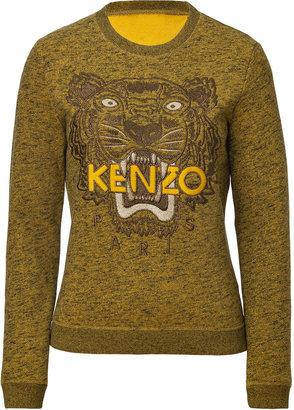 Kenzo Cotton Embroidered Sweatshirt