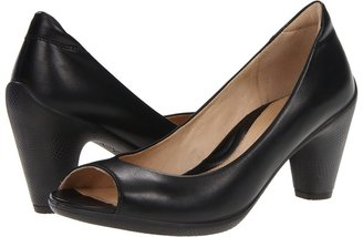 Ecco Sculptured 65 Sandal (Black Feather) - Footwear