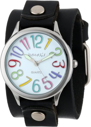 Nemesis Women's GB108W Colorful Different Color Numbers Watch