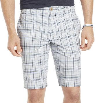 Izod Plaid Seersucker Shorts
