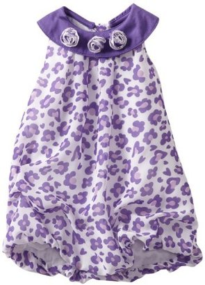 Little Lass Baby-girls Infant 1 Piece Bubble Creeper With Leopard Prints