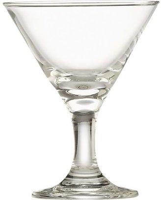 Crate & Barrel Mini Martini Glass