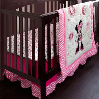 Disney Minnie Mouse Crib Bedding Set - Personalizable