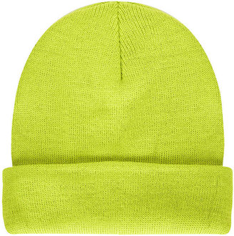 Topshop Turn Up Bright Beanie