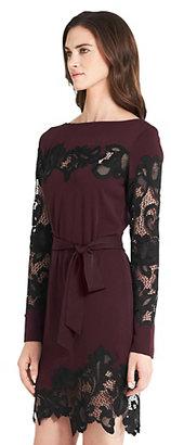 Diane von Furstenberg Ernestina Lace Detail Dress