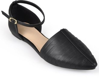 Journee Collection Object Two-Piece Flats - Women