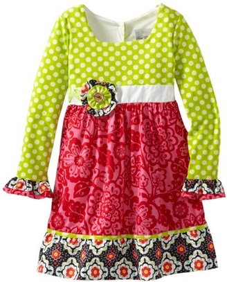 Rare Editions Girls 7-16 Printed Woven Dress