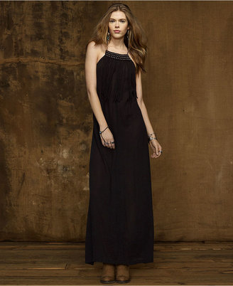 Denim & Supply Ralph Lauren Dress, Spaghetti-Strap Beaded Maxi