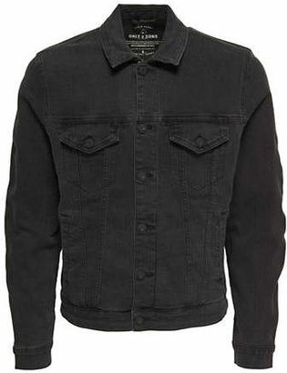 ONLY & SONS Buttoned Denim Jacket